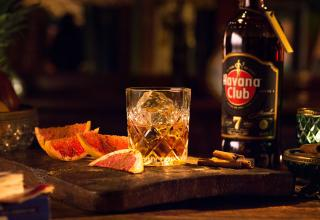 Recept na koktejl 7 Sips Grapefruit and Cinnamon Havana Club