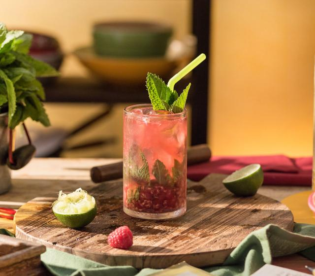 Recept na koktejl Raspberry Twist Mojito Havana Club