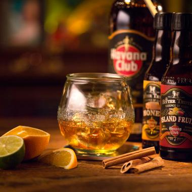 Recept na koktejl 7 Neat with Essence of Cuba Havana Club