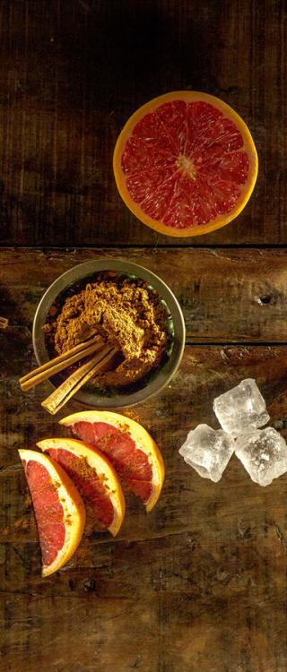 Ingredience koktejlu 7 Sips Grapefruit and Cinnamon Havana Club