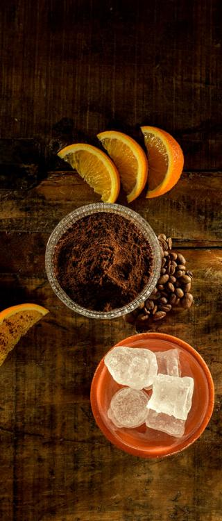 Ingredience koktejlu 7 Sips Orange and Coffee Havana Club