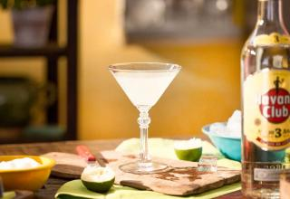 Classic daiquiri recipe how to Havana club
