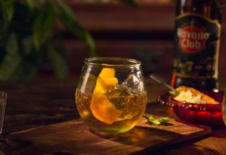 Rum old fashioned recipe how to Havana club