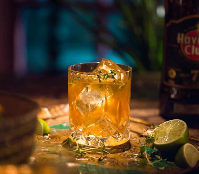 Canchanchara autumn punch Cocktail recipe Havana club