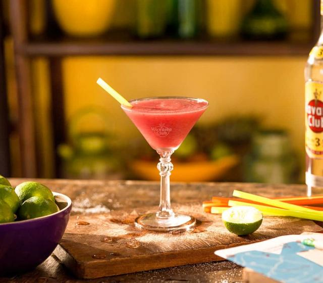 Fruit daiquiri Cocktail recipe Havana club