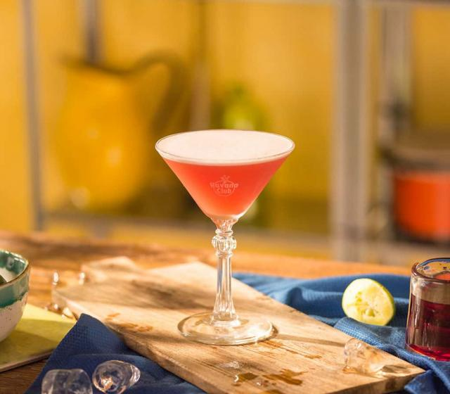 Mary pickford Cocktail recipe Havana club