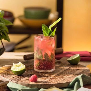 Raspberry twist mojito Cocktail recipe Havana club