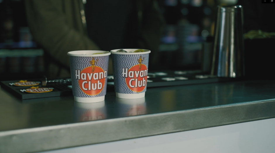Collab Snearkerness x Havana Club papercup