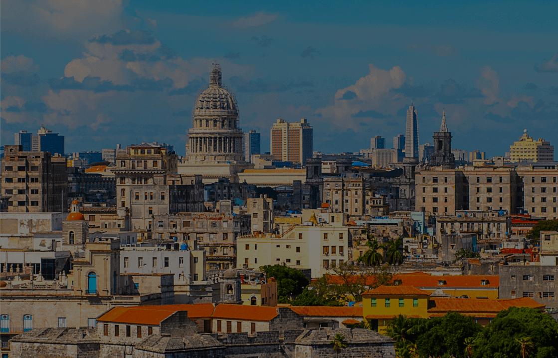 Kuba – Blick auf Havanna