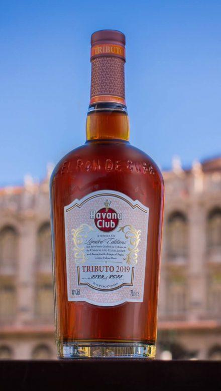 Havana Club Tributo Flasche