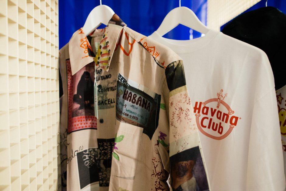 Collab Aries Arise x Havana Club tee-shirt