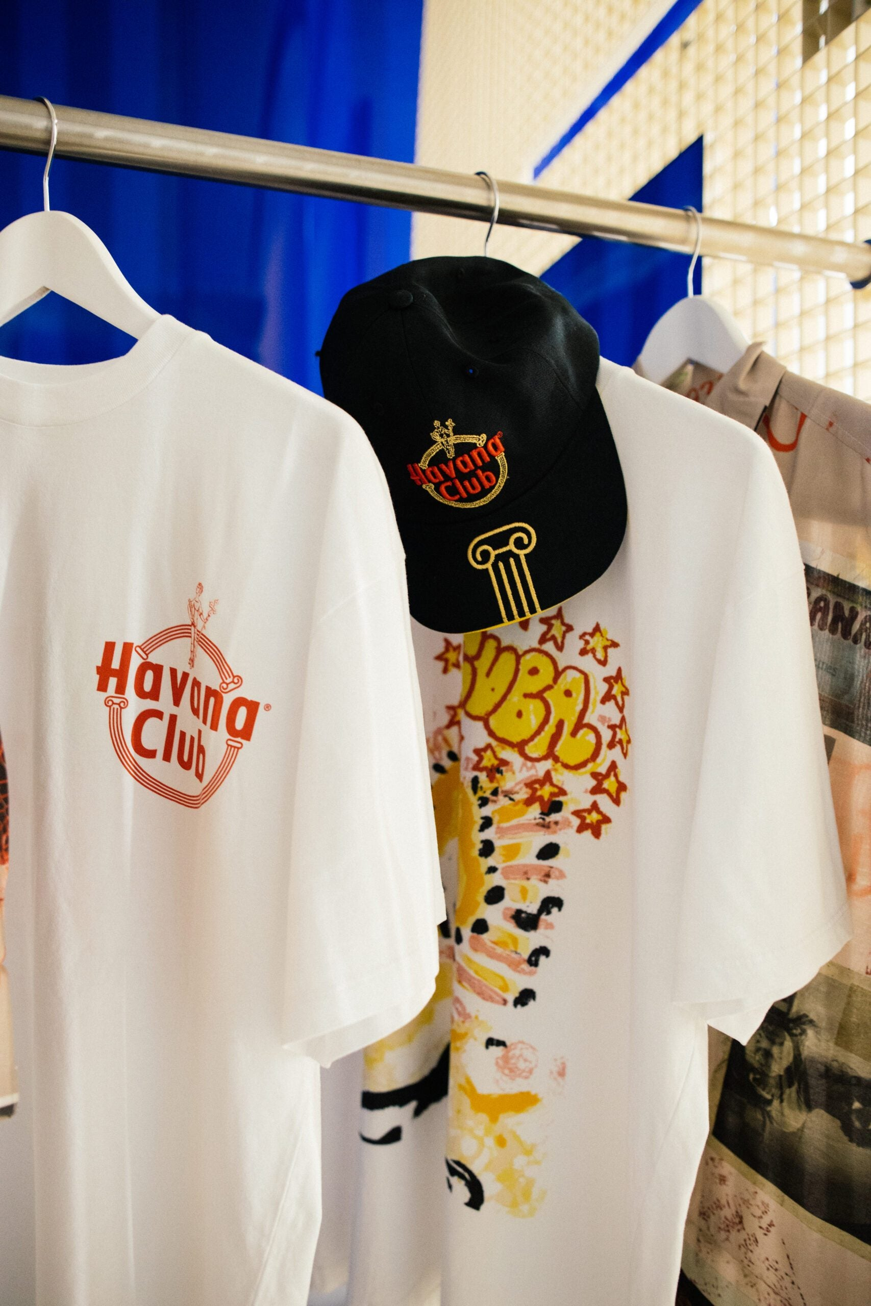 Collab Aries Arise x Havana Club tee-shirt and cap