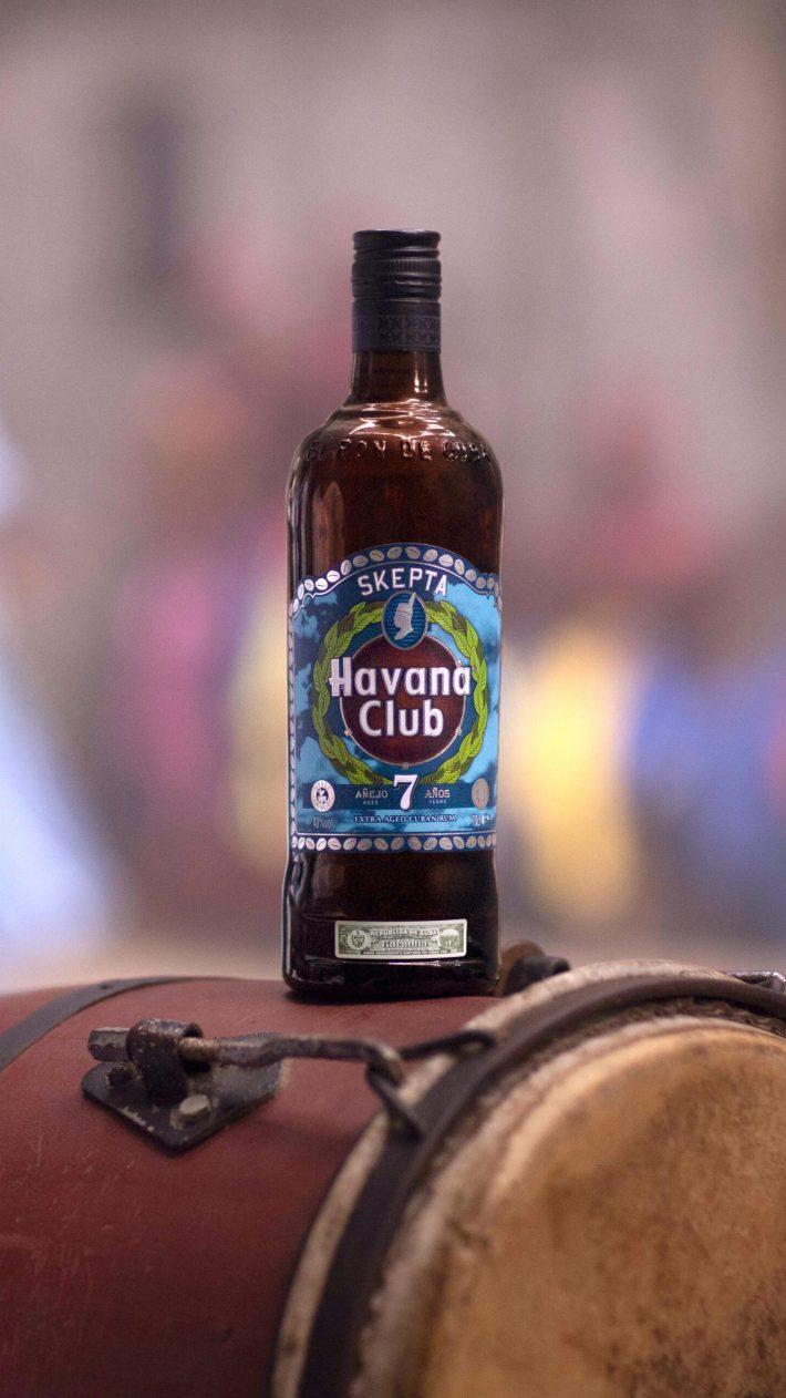 Collab Skepta x Havana Club limited edition bottle