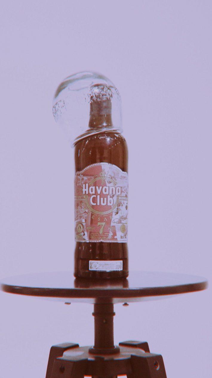Collab Aries Arise x Havana Club limited edition bottle