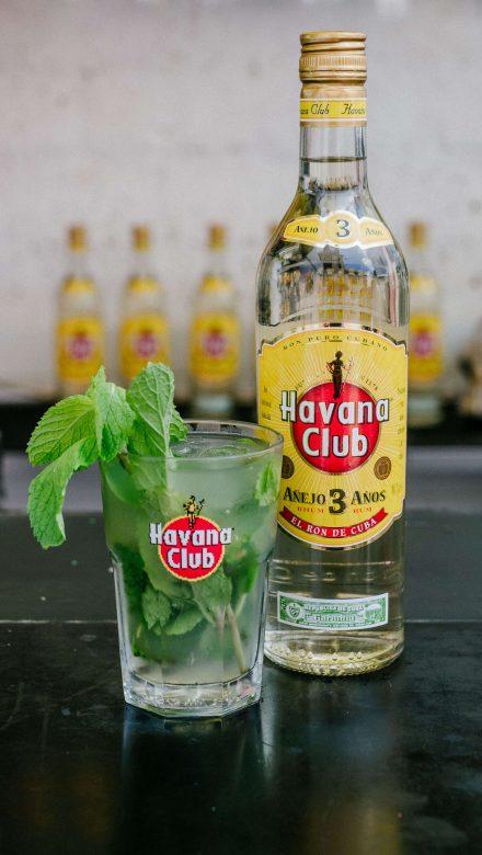 Mojito Cocktail mit Havana Club 3 Jahre Rum