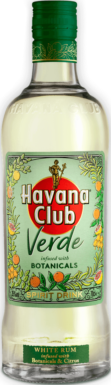 Havana Club Verde Flaschen Freisteller