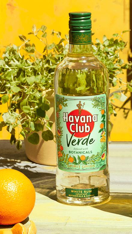 Havana Club Verde Flasche