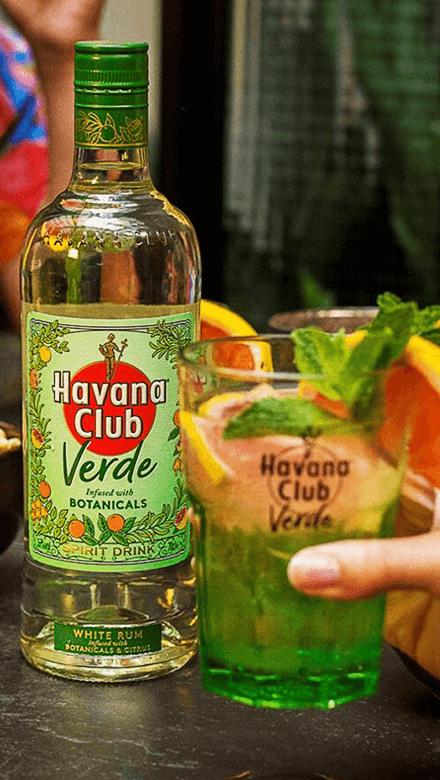 Havana Club Verde mit Tonic