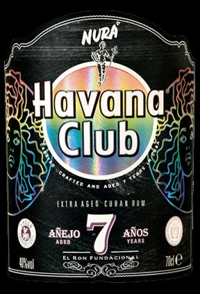 Havana Club x Nura Limited Edition Bottle Label