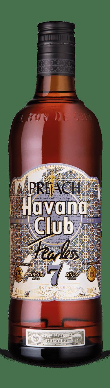 Havana Club x Preach Limited Edition Flasche