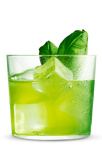 Havana Club Verde Basil Smash Rezept