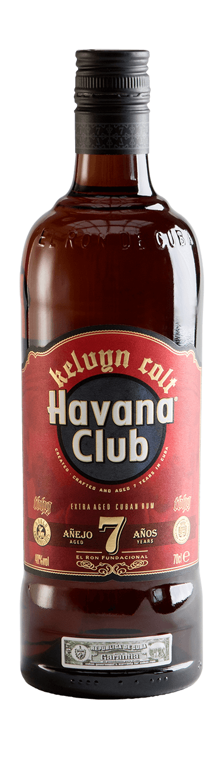 Havana Club x Kelvyn Colt Limited Edition Flasche