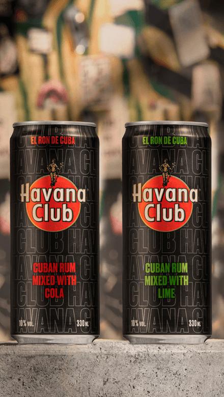 Havana Club Lime & Cola Dosen
