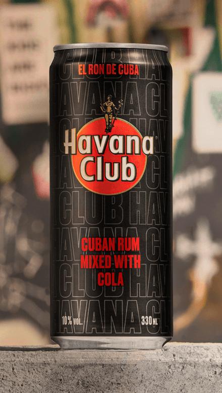 Havana Club Cola Dose