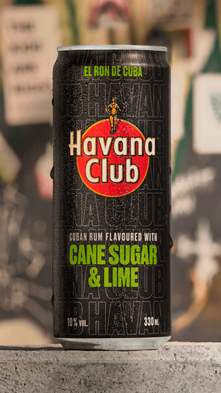 Havana Club Cane Sugar Lime Dose