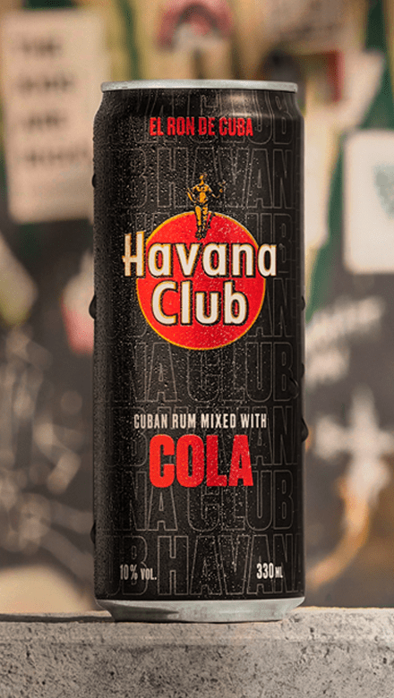 Havana Club Cola Dose Mood