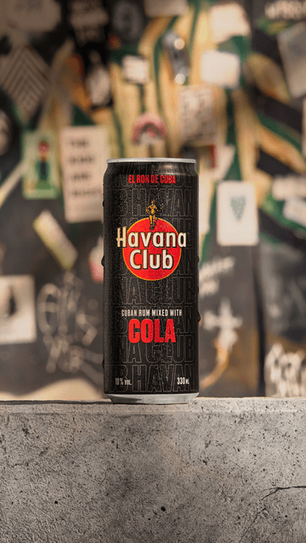 Havana Club Cola Ready to Drink Dose