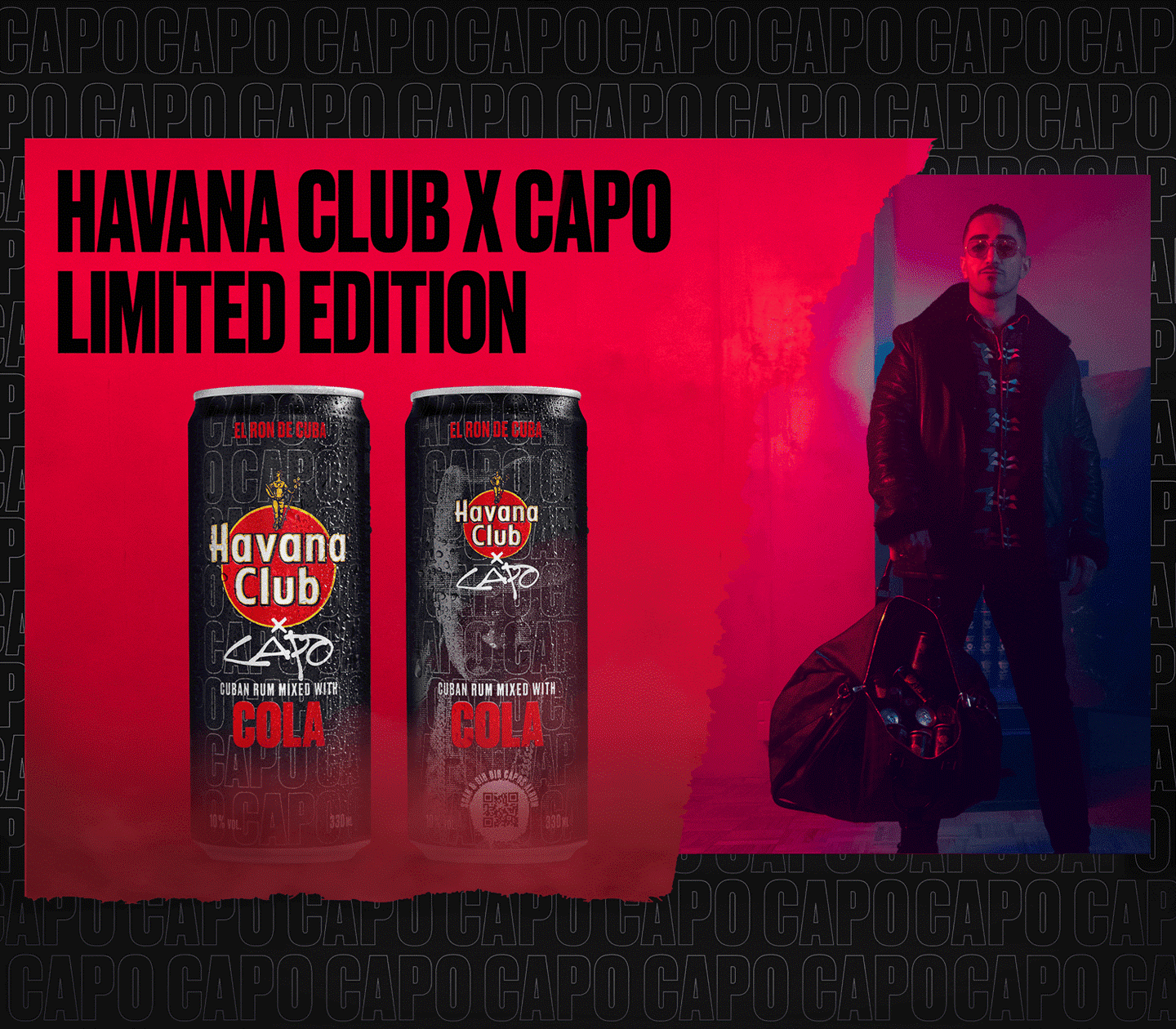 Havana Club x Capo KeyVisual final