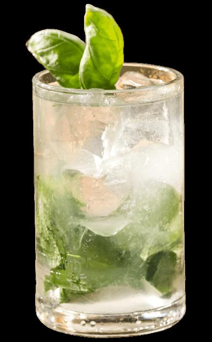Basilikum Mojito Cocktailrezept