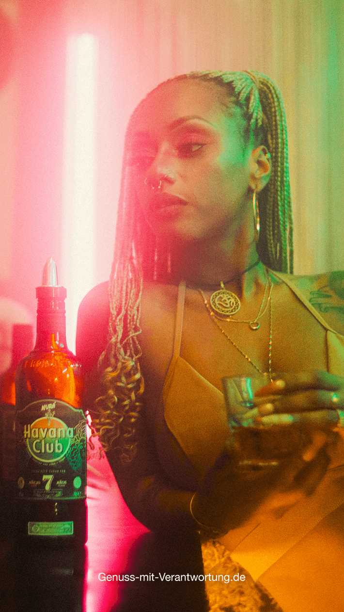 Havana Club x Nura Limited Edition Flasche