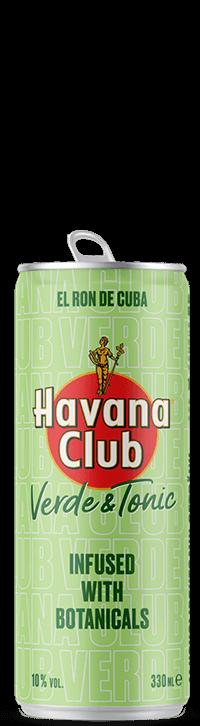 Havana Club Verde & Tonic Dosen Freisteller