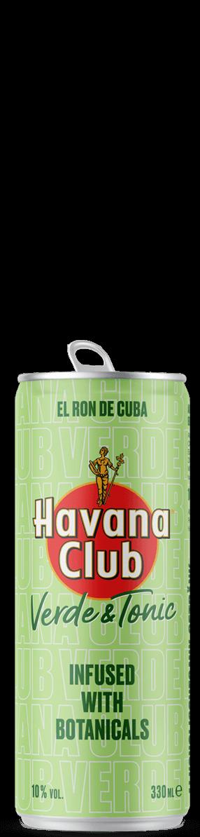 Havana Club Verde & Tonic Dose Freisteller