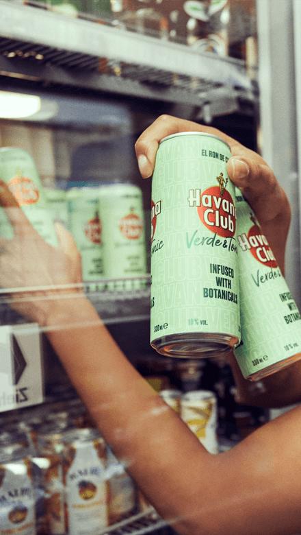 Havana Club Verde & Tonic Water Dosen