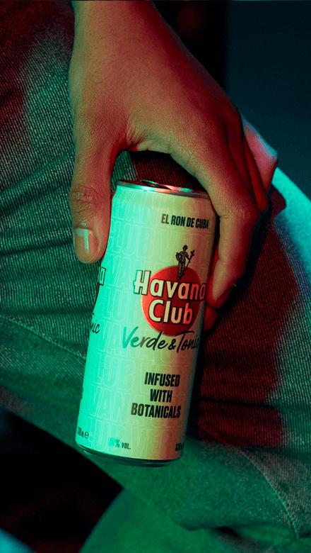 Havana Club Verde & Tonic Water Ready to Drink Dose